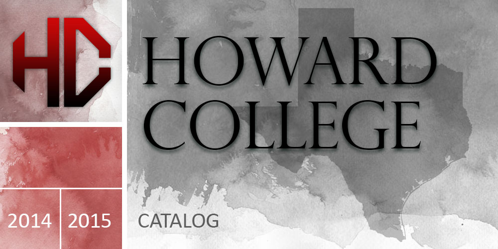 Howard College 2014-2015 Catalog